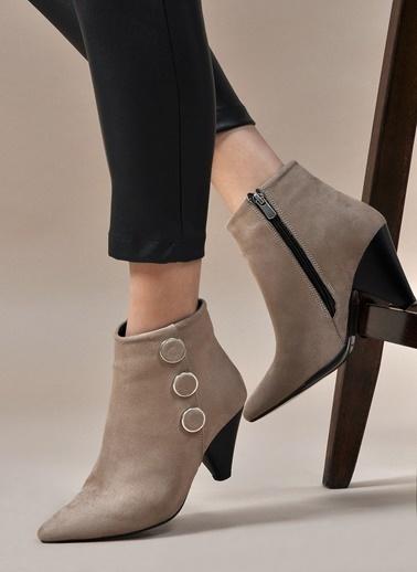 Vizon Ayakkabı Bot Vizon